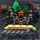 Britain Royal Marines Military SWAT Minifigures Compatible Lego Toy Soldiers Building Block