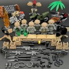 Special Force Trooper Desert Eagle Land Trooper Army Minifigures Compatible Lego Military Base Toys