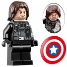 Winter Soldier Minifigures Captain America building block Toy Compatible Lego Marvel Super Heroes