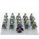 21pcs Star Wars Kylo Ren Geonosis Airborne Clone Trooper Minifigures Compatible Lego Star Wars