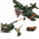 German Plane Air Defence Trooper of Great Britain Compatible Lego WW2 Military Minifigures
