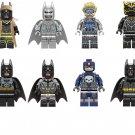 Batman Tony Black Panther Minifigures Super Heroes building block Toy Compatible Lego Minifigures