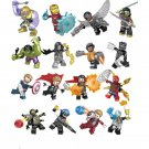 16 pcs Avengers sets Minifigures Super Heroes Building block Toy Compatible Lego Avengers Toy