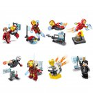 Iron Man Minifigures Avengers Age of Ultron Building block Toy Compatible Lego Toy Iron Man