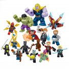 Thanos Iron Man Minifigures Avengers Infinity War building block Toy Compatible Lego Superhero