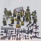 WW2 US army building block Toy America soldiers Minifigures Compatible Lego WW2 US army Toy