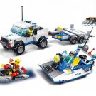 United States Coast Guard building block Toy Speedboat soldiers Minifigures Compatible Lego police