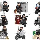 S.W.A.T. minifigures America TV building block Toy Compatible Lego City Police