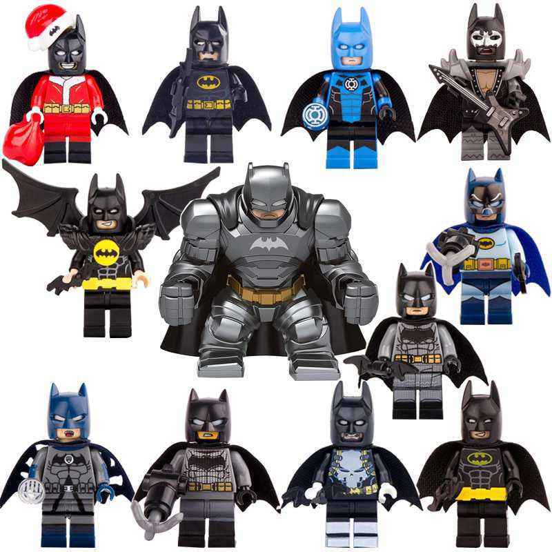 12 pcs Batman Minifigures Compatible Lego Batman movie ...