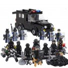 S.W.A.T.Minifigures Riot Car Riot Police building block Toy Compatible Lego Toy Police