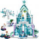 Princess Elsa's Magical Ice Palace Building Blocks Toy Compatible Lego Toys Minifigures