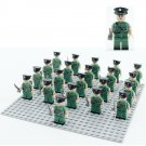 Hong Kong Police Officer minifigures Compatible Lego City Police Toy