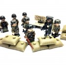 World War 2 military minifigures,German soldiers minifigures Compatible Lego WW2 Toy