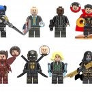 Proxima Midnight Hawkeye Nick Fury Minifigures Compatible Lego Avengers Minifigures