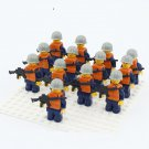 Military Rescue Soldiers Minifigures Compatible Lego WW2 Military set