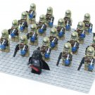 21pcs Geonosis Clone Trooper Darth Vader minifigures Compatible Lego Star Wars minifigures