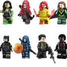 Firestar Hope Summers Taskmaster minifigures Compatible Lego Superhero Movie building block Toy