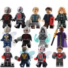 Ant-Man Wasp movie Character minifigures Compatible Lego Super Heroes sets