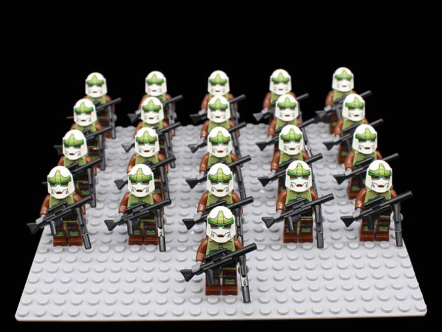Commander Gree 41st Elite Corps Minifigures Compatible Lego Star Wars Clone Trooper