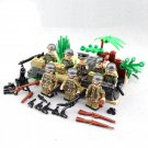 Germany Soldiers Minifigures World War II Toy Compatible Lego WW2 military Soldiers