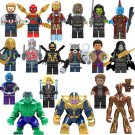 The Avengers Super Heroes Minifigures,Compatible Lego Avengers Minifigure