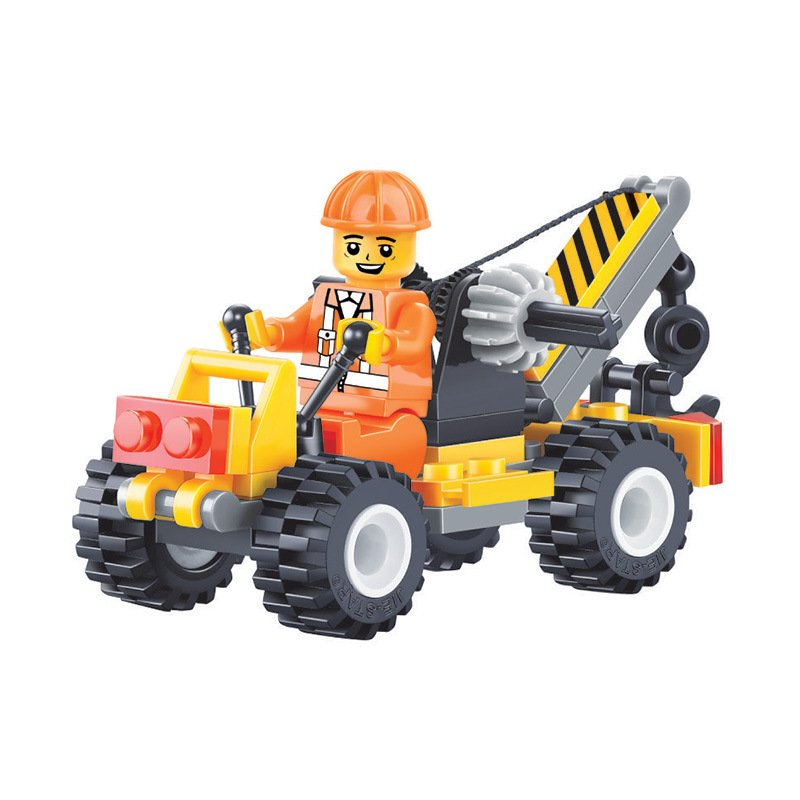 Gun Towing Truck Minifigures Compatible Lego City Minifigures