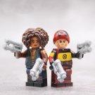 Domino Deadpool Minifigures Compatible Lego Deadpool 2 Minifigure