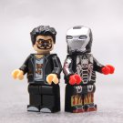 Tony Stark War Machine Minifigures Compatible Lego Iron Man Minifigure