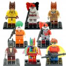 Joker Harley Quinn Minifigures Compatible Lego Batman Minifigures