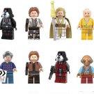 Maz Kanata Supreme Leader Snoke Minifigures Compatible Lego Star Wars set