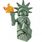 Lady Liberty Minifigures Compatible Lego Minifigures Series 6