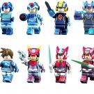 Rockman Minifigures Rockman X Rockman EXE Compatible Lego Comic Minifigures