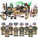 The Battle of Berlin Germany soldiers Minifigures Compatible Lego WW2 Military Toy