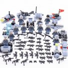 Australia Camouflage Commando soldiers Minifigures Compatible Lego WW2 military set