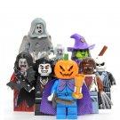 Halloween Witch Pumpkin Man Vampire Minifigures Compatible Lego Toy Halloween Minifigure
