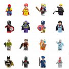 Bruce Wayne Spider-Man Harley Quinn Minifigures Compatible Lego Super Heroes Minifigures
