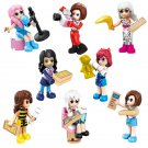 8pcs Friends Girlz 4 Life Minifigures Compatible Lego Advent Calendar Toy