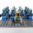 13pcs Star Wars Boba Fett Minifigures Compatible Lego Star Wars set