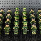 24pcs America SEAL soldiers Minifigures Compatible Lego Toy Military sets