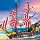 Castle Captain Pirates Caribbean Treasure Ship Vessel Lego Compatible Toy