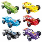 Cars Minifigures Compatible Lego movie Comic set
