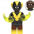 Black Vulcan Minifigures Compatible Lego Toy DC Super Heroes Minifigure