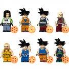 Dragon Ball Vegetto Tien Shinhan Krillin Minifigures Compatible Lego Halloween Toy