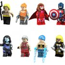 Aquaman Mockingbird Scarlet Witch Minifigures Compatible Lego Toy Minifigure