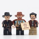 The Good The Bad And The Ugly Minifigures Compatible Lego Movie set