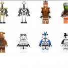 Star Wars Jedi Master Pong Krell Minifigures Compatible Lego Toy Star Wars Minifigure