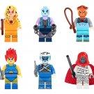 6pcs Thundercats Minifigures Compatible Lego Comic Minifigure Toy