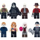 Dracula Movie Jason Freddy Oliver Minifigures Compatible Lego Toy Halloween gift