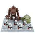Jabba the Hutt Ranke Imperial Stormtrooper Minifigures Compatible Lego Star Wars set