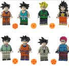 Raditz Son Goku Gohan Minifigures Compatible Lego Toy Dragon Ball set